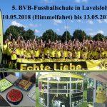 Jubiläumsbesuch der Borussia Dortmund Fussballschule